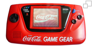 NTSC-JP Game Gear Coca-Cola Red Edition