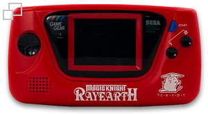 NTSC Game Gear Magic Knight Rayearth Red Edition