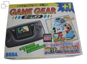 Game Gear Mickey Mouse: Mahou no Crystal Pack