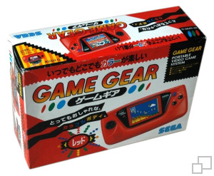 Game Gear Red Box
