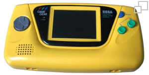NTSC-JP Game Gear Yellow Edition