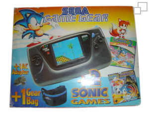 PAL/SECAM Game Gear AC Adaptor / Sonic 2 / Sonic Spinball Bundle