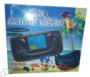 PAL/SECAM Game Gear AC Adaptor / Sonic / Bag Bundle