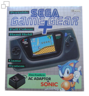 PAL/SECAM Game Gear AC Adaptor / Sonic Bundle