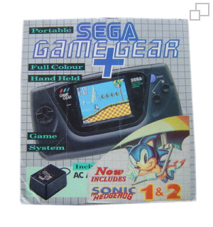 PAL/SECAM Game Gear AC Adaptor / Sonic / Sonic 2 Bundle