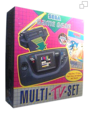PAL/SECAM Game Gear AC Adaptor / Sonic / TV Tuner Bundle
