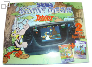 PAL/SECAM Game Gear Columns / Asterix Bundle
