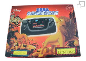 PAL/SECAM Game Gear Lion King Bundle