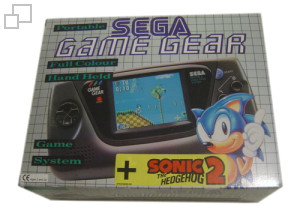 PAL/SECAM Game Gear Sonic 2 Bundle