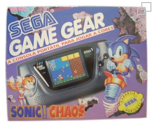 PAL/SECAM Game Gear Sonic Chaos Bundle