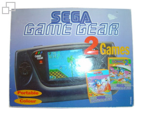 PAL/SECAM Game Gear Sonic / Sonic 2 Bundle
