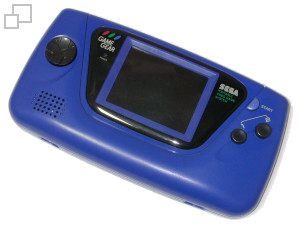NTSC-US Game Gear Blue Edition