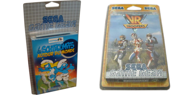 Game Gear Europe Blister Pack